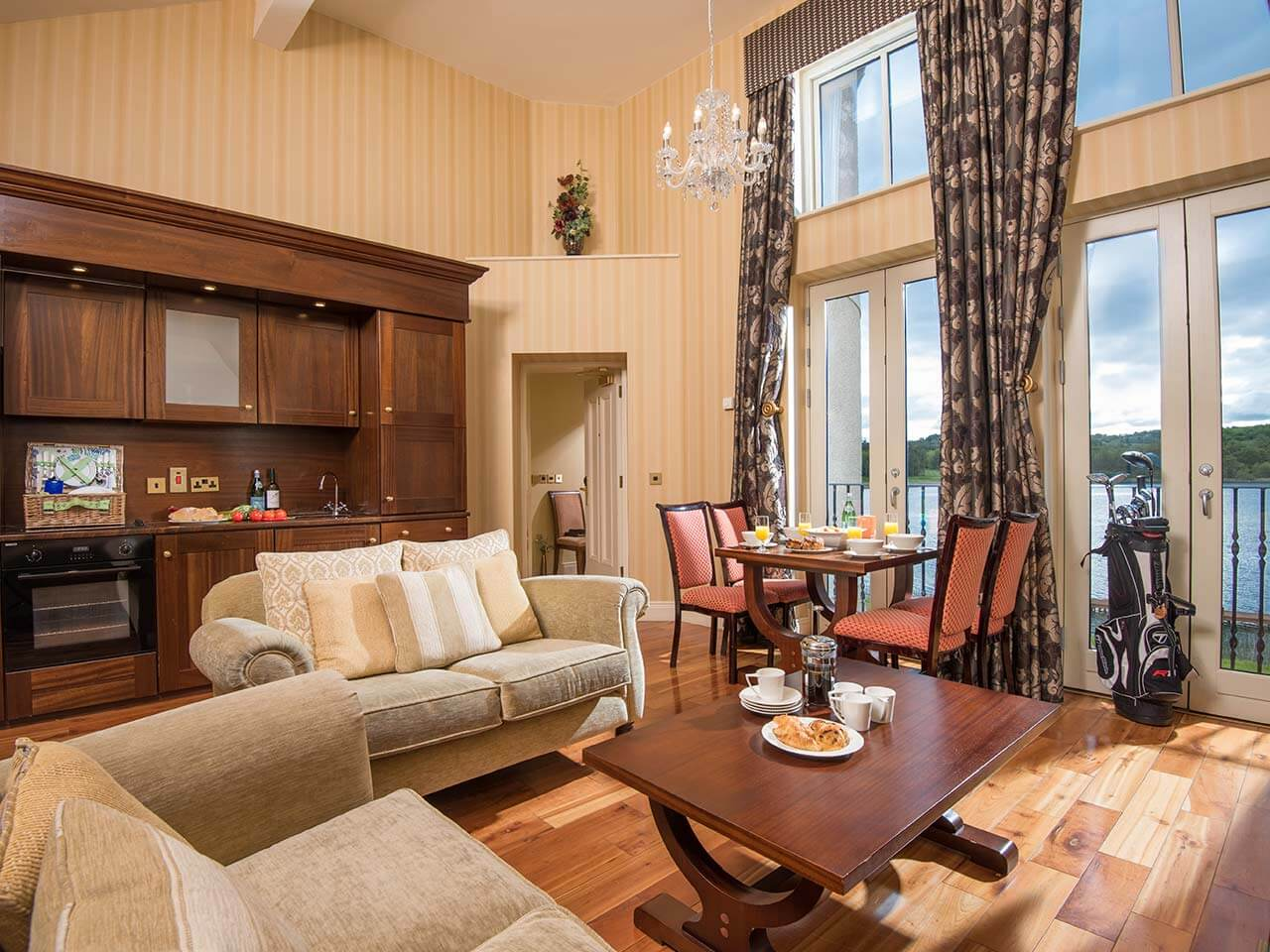 Our rooms lough erne resort official gallery for Accolades salon coupon